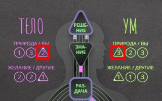 Что такое треугольники (тона) в бодиграфе и как их читать.