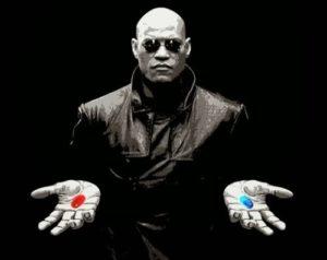 морфиус с двумя таблетками